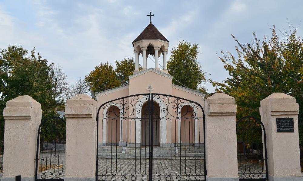 Церковь Святой Богородицы. Самарканд